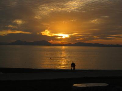 きららビーチの夕日 018.JPG