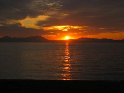 きららビーチの夕日 038.JPG