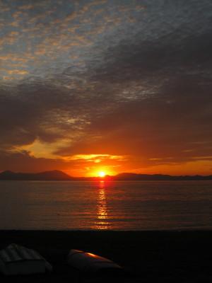きららビーチの夕日 041.JPG