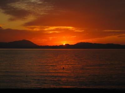 きららビーチの夕日 049.JPG
