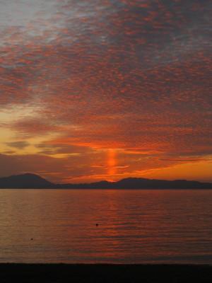きららビーチの夕日 072.JPG